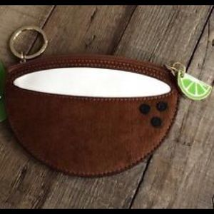 KATE SPADE Coconut Coin/Key Pouch