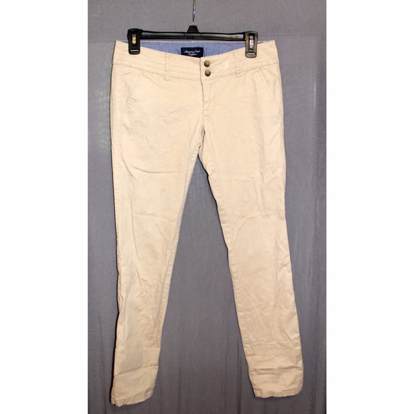 Unique  Flex Relaxed Straight Chino Field Khaki  American Eagle Outfitters