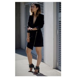 Missguided Dresses & Skirts - Black blazer dress relaxed fit size 6