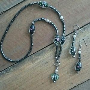 Heart Hemalyke Toggle front necklace