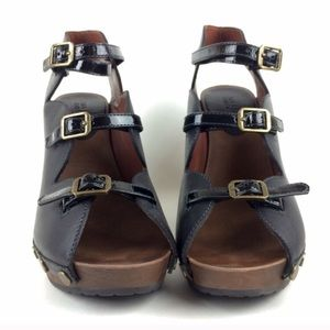 See by Chloé Wedge Strappy Sandals - super rare!