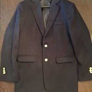Izod boys navy sportcoat
