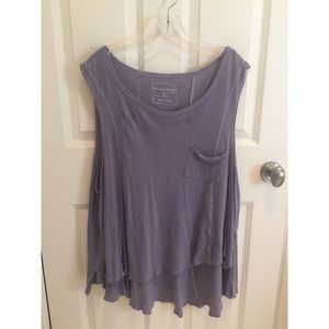 WE THE FREE Free People Beach House Tank in Purple