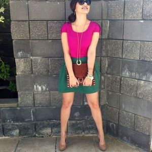 Zara Dresses & Skirts - Green Skirt
