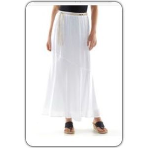 69 ab studio dresses skirts white gauze maxi