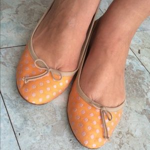 J. Crew Shoes - J.Crew Polka Dot Flats