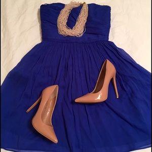 J. Crew Dresses & Skirts - Cobalt Blue JCrew Dress size 0P