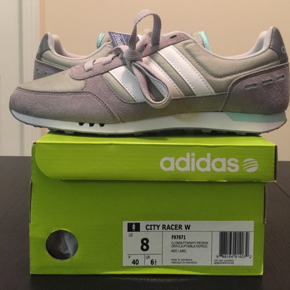 sneakers for cheap cc786 a0f71 Adidas Shoes - NEW ADIDAS NEO LABEL CITY RACER W SIZE 8