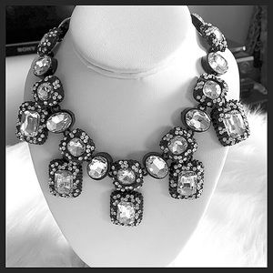 Gorgeous Crystal Statement Charm Necklace