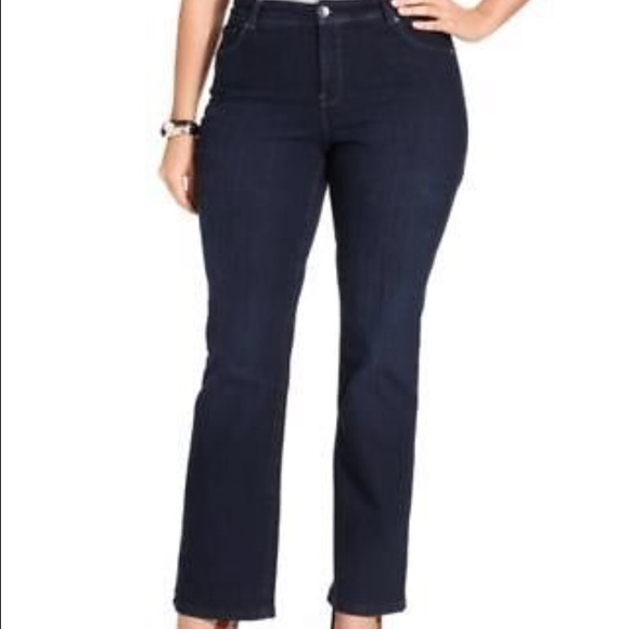 023c2baac8559 Style & Co Pants | Styleco Plus Size Tummy Control Bootcut Jeans ...