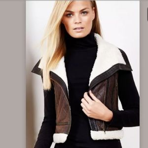 Jackets & Blazers - Beulah Sherling faux leather vest