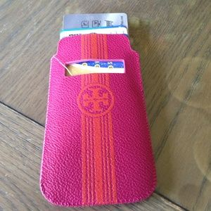 2aa0ec9f082 Tory Burch Accessories - NEW Tory Burch leather pull pouch