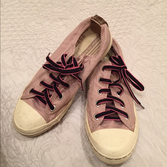 converse converse light pink sneakers size 5 from