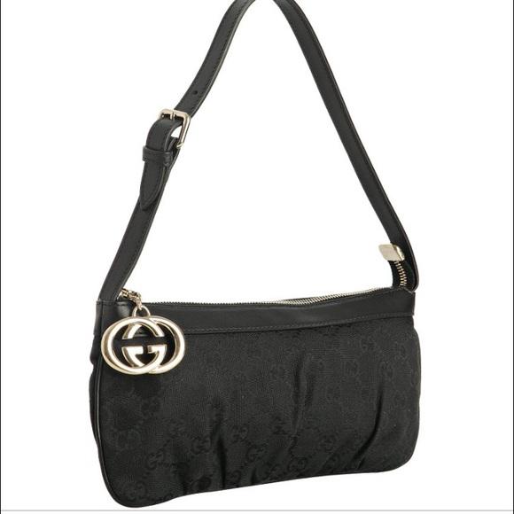 Small black gucci purse
