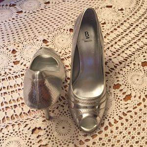 Bakers Shoes - Silver heels