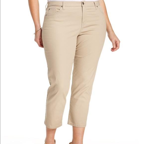 73% off Style & Co Pants - Style&co. Plus Size Tummy-Control Capri ...