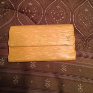 Vintage Epi  Louis Vuitton wallet