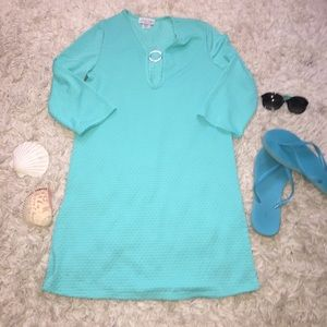 Dresses & Skirts - Turquoise Cover-up
