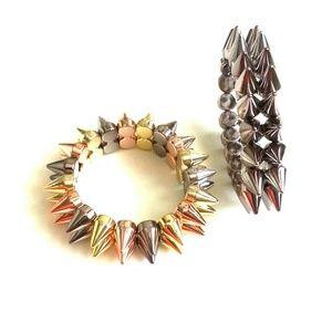 Accessories - Stud stretch bracelets bundle
