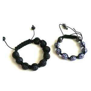Accessories - Bundle shamballa bracelets