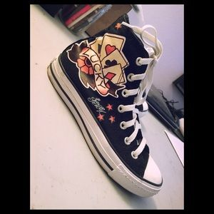 53 off converse shoes converse sailor jerry tattoo chucks shoes 7 5 7 from susan 39 s. Black Bedroom Furniture Sets. Home Design Ideas