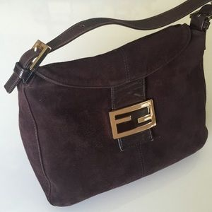 FENDI Handbags - FENDI Suede Purse
