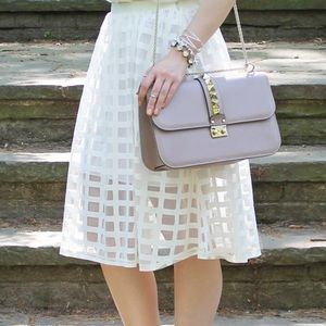 ASOS Dresses & Skirts - Asos Windowpane Skirt