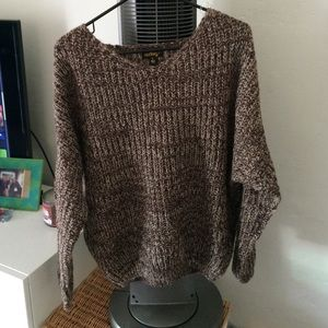 Brown sweater size small
