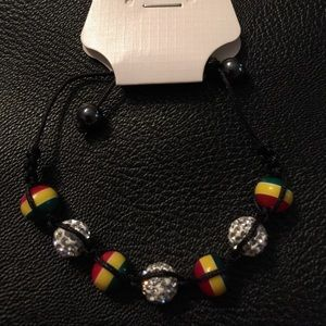 Jewelry - Rasta adjustable bracelet