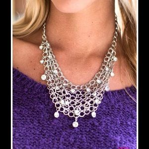 Paparazzi paparazzi fishing for compliments necklace for Paparazzi jewelry wholesale prices