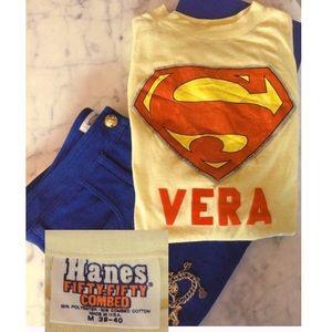 Vintage 1983 Trademarked Superman Tee