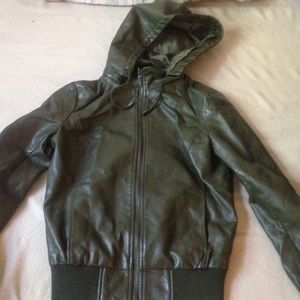 Forever 21 Hooded Jacket