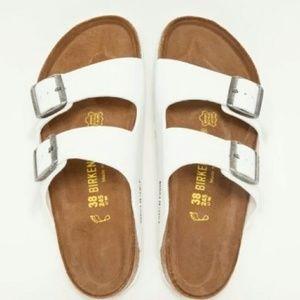 d786876679a Birkenstock Shoes - ISO white Birkenstock size 7 or 7.5