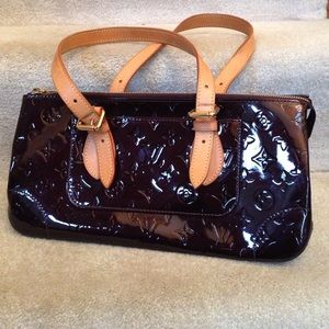 Louis Vuitton Rosewood Vernis Leather Shoulder Bag