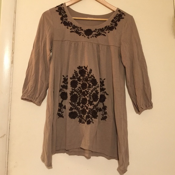 Garnet Hill Embroidered Peasant Top From Nancy 39 S Closet