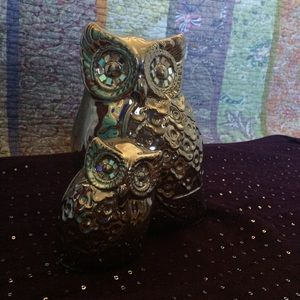 Accessories - Silver Owl Room Decor