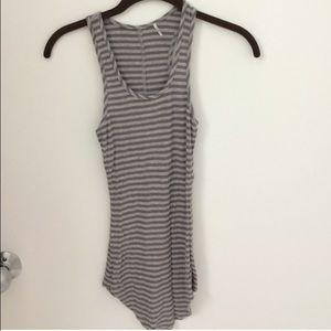 L.A.M.B. Tops - Striped light/dark grey color L.A.M.B. Tank top
