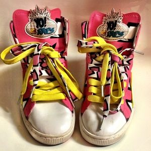 PUMAS Yo MTV Raps Limited Edition Sneakers Shoes