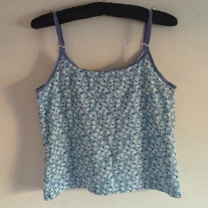 Tops - Cute Floral Tank Tip