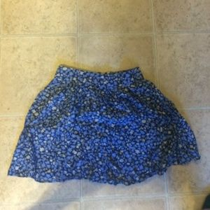 Floral skirt urban outfitters