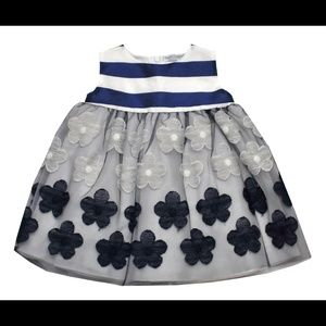 baby Graziella Dresses & Skirts - Baby Graziella blue and white dress