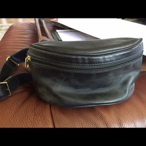 Original coach leather fanny pack