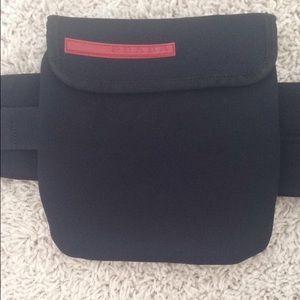 prada tessuto waist pouch