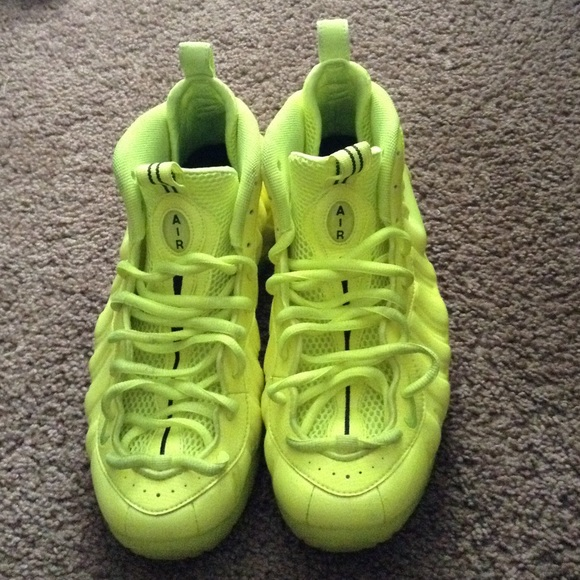 nike shoes volt foamposites poshmark