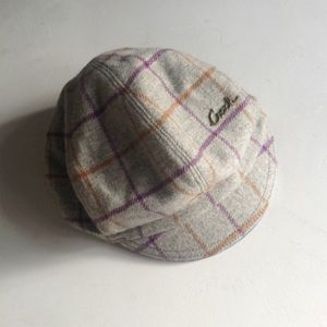 {Coach} Plaid Wool Cap