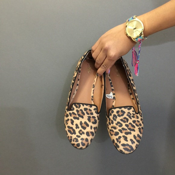 1e53fcb8a2fe Mossimo Supply Co. Shoes | Leopard Print Loafer Flats Make An Offer ...