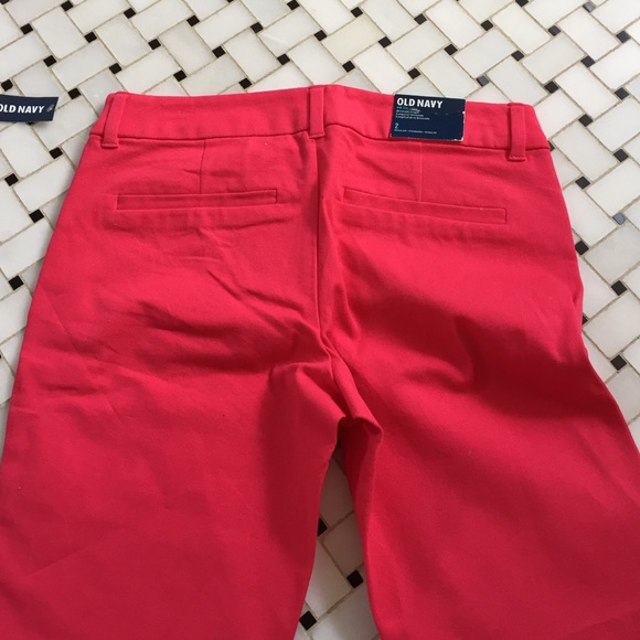 Old Navy Shorts - Old Navy Bernuda shorts in red - size 2