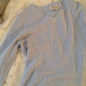 Baby blue oversized soft sweater