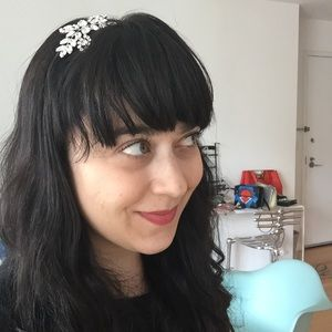 Beautiful Jennifer Behr Crystal Headband