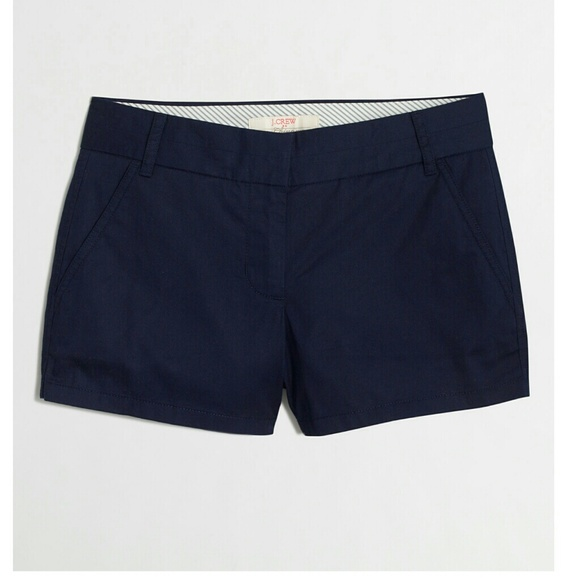78% off J. Crew Pants - TONIGHT ONLY🌺J. Crew Navy Blue Shorts ...